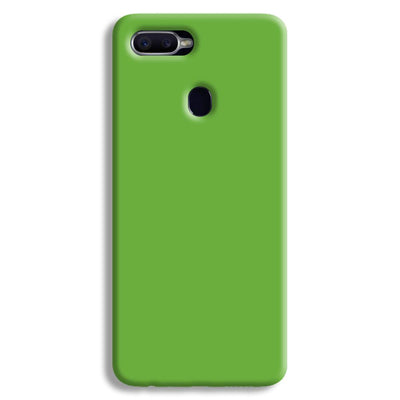 Light Green Oppo F9 Case