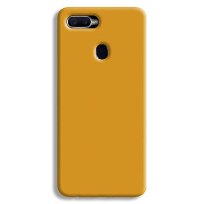 Yellow Ochre Oppo F9 Case