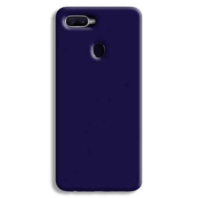 Navy Blue Oppo F9 Case