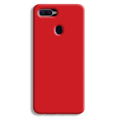 Light Red Oppo F9 Case