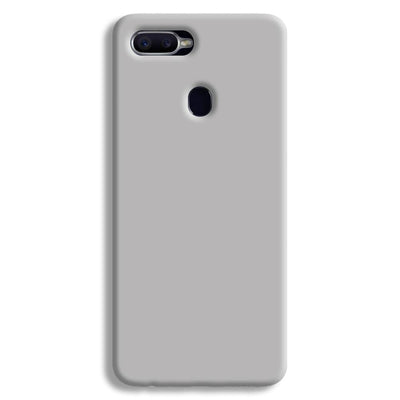 Light Grey Oppo F9 Case