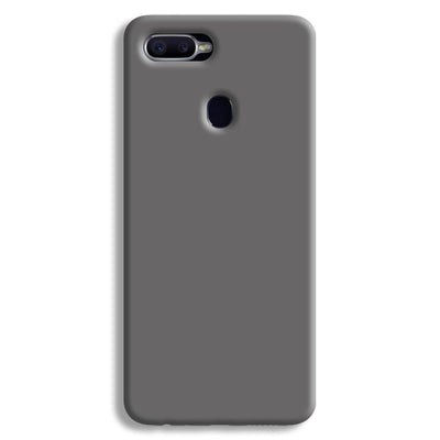 Medium Grey Oppo F9 Case