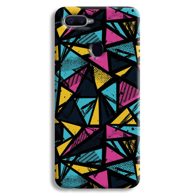 Abstract Oppo F9 Case