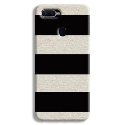 Black & White  Oppo F9 Case