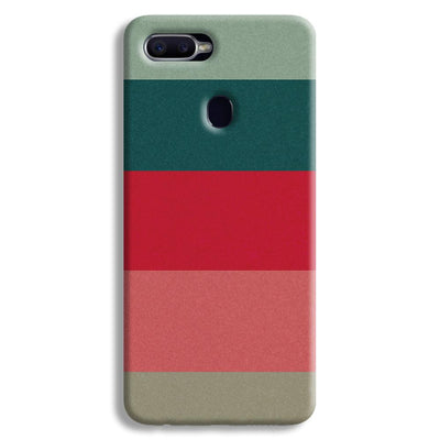 Colored Strips Oppo F9 Case