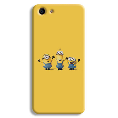 Three Minions Oppo A1 Case