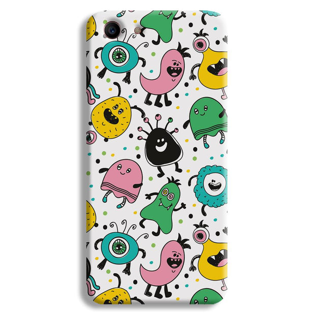 The Monsters Oppo A1 Case