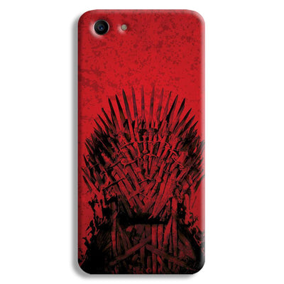 Red Hot Iron Thrones Oppo A1 Case