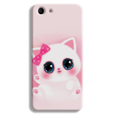Pink Cat Oppo A1 Case