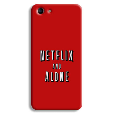 Netflix and Alone Oppo A1 Case