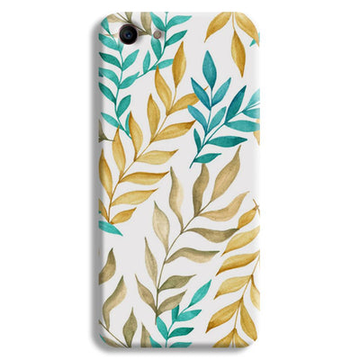 Tropical leaves  Oppo A1 Case