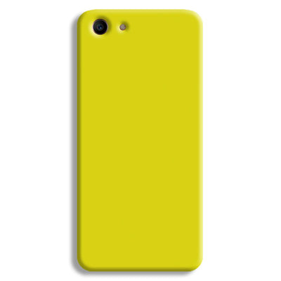 Yellow Oppo A1 Case