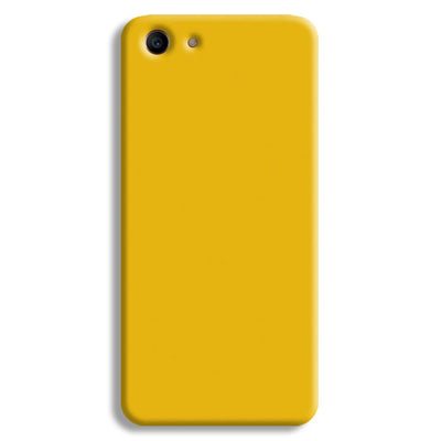 Yellow Crome Oppo A1 Case