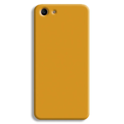 Yellow Ochre Oppo A1 Case