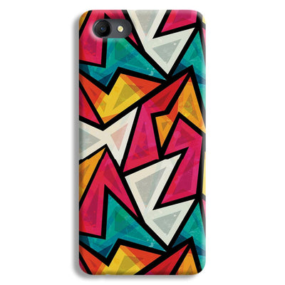 Angular Pattern Oppo A3 Case