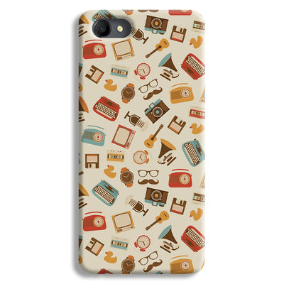 Vintage Elements Pattern Oppo A3 Case