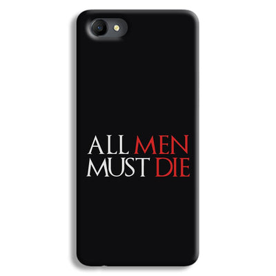 ALL MEN MUST DIE Oppo A3 Case