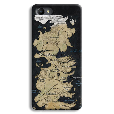 Game of Thrones Map Oppo A3 Case