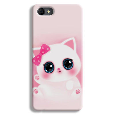 Pink Cat Oppo A3 Case