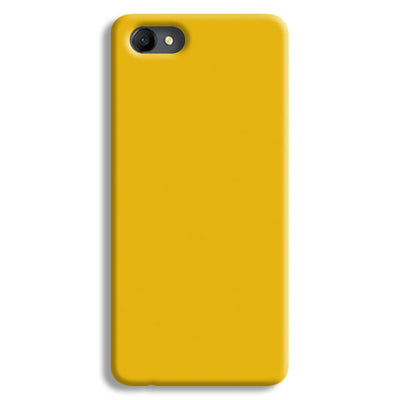 Yellow Crome Oppo A3 Case