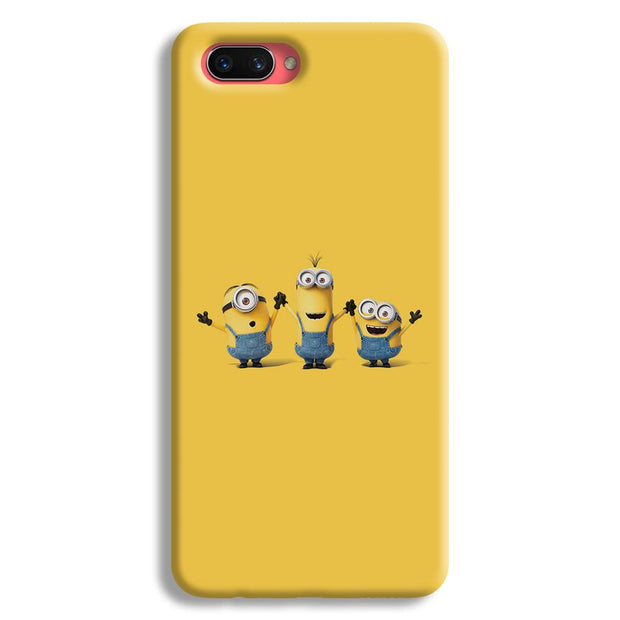 Three Minions Oppo A3s Case