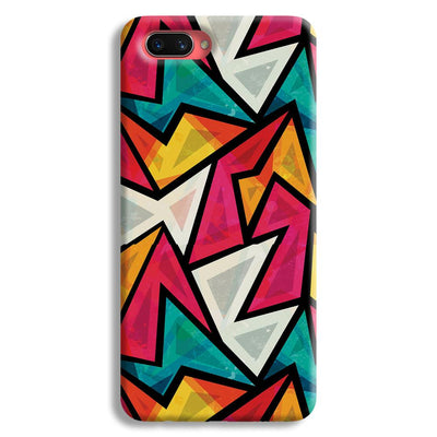 Angular Pattern Oppo A3s Case