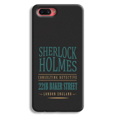Sherlock Holmes Quote Oppo A3s Case
