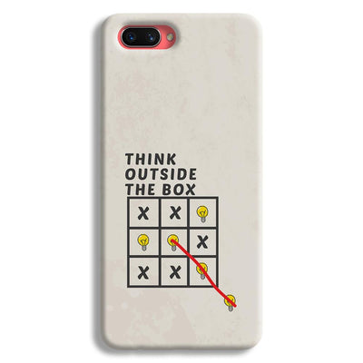 Think Outside the Box Oppo A3s Case