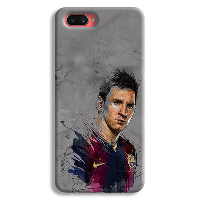 Messi Grey Oppo A3s Case