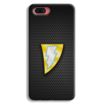 Black Adam Oppo A3s Case
