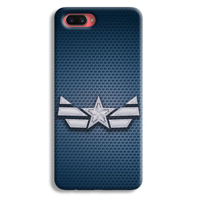 Captain America Costume Oppo A3s Case