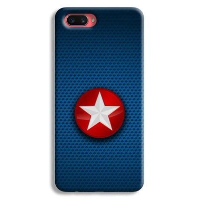 Captain America Side Star Oppo A3s Case