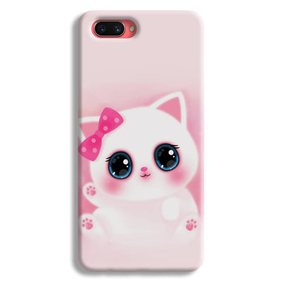 Pink Cat Oppo A3s Case
