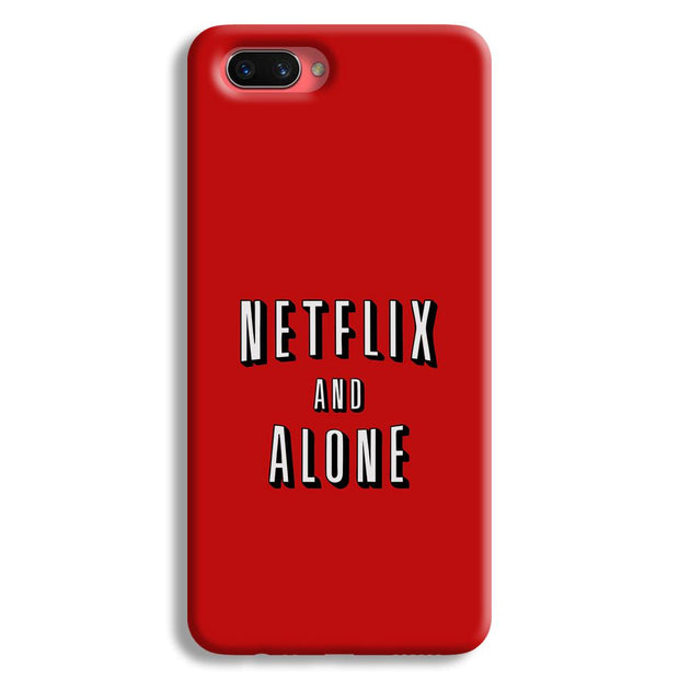 Netflix and Alone Oppo A3s Case