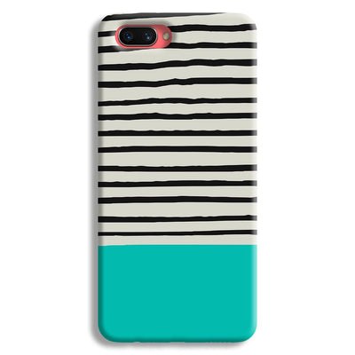 Aqua Stripes Oppo A3s Case