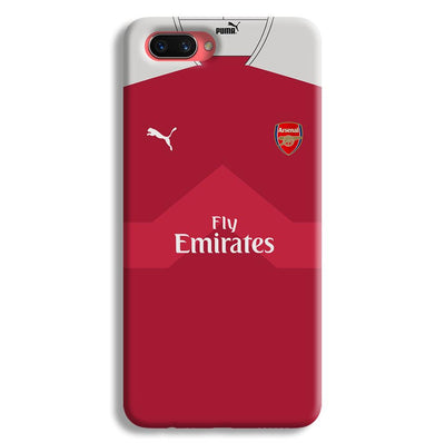 Arsenal F.C. Jersey Oppo A3s Case