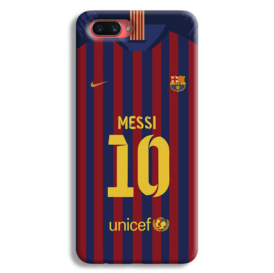 Messi (FC Barcelona) Jersey Oppo A3s Case