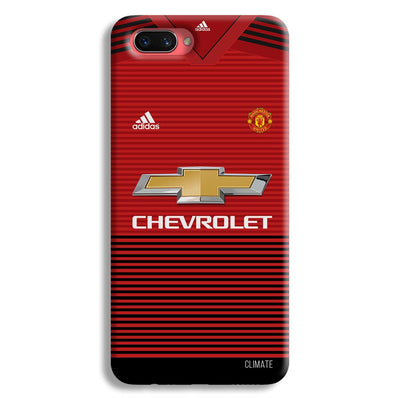 Manchester United Jersey Oppo A3s Case