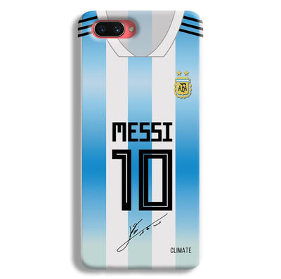 Messi Jersey Oppo A3s Case