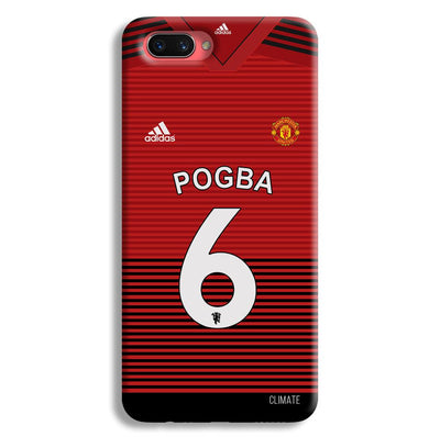 Pogba Jersey Oppo A3s Case