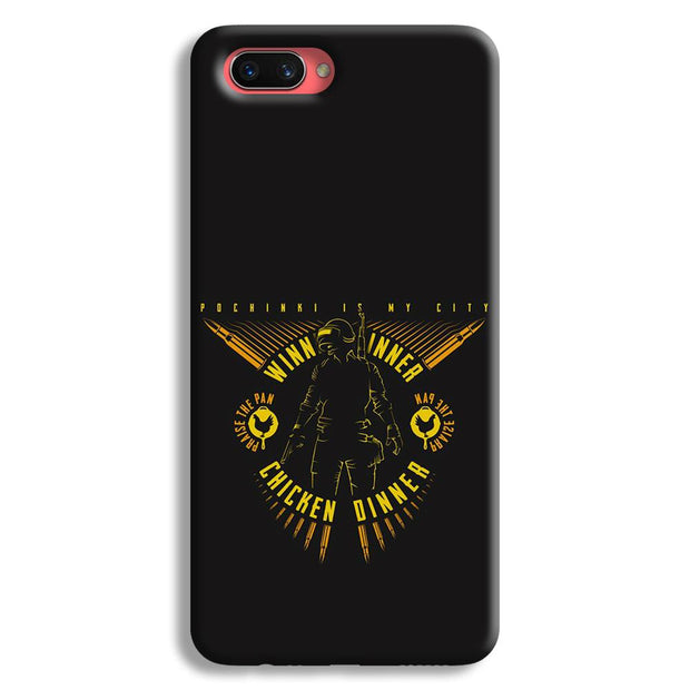Pubg Playerunknowns Battlegrounds Oppo A3s Case