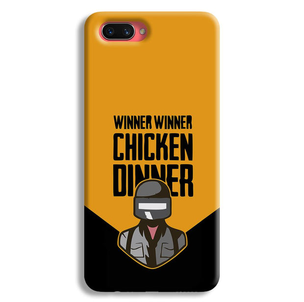 Pubg Chicken Dinner Oppo A3s Case