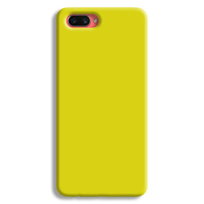 Yellow Oppo A3s Case