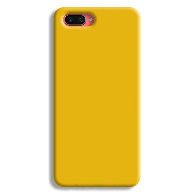 Yellow Crome Oppo A3s Case