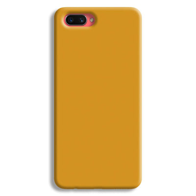 Yellow Ochre Oppo A3s Case