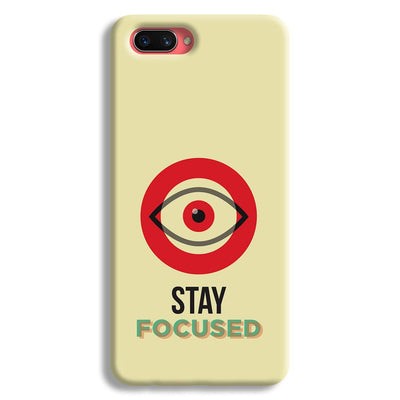 Stay Focussed Oppo A3s Case