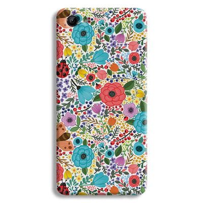 Floral Pattern Vivo Y83 Case