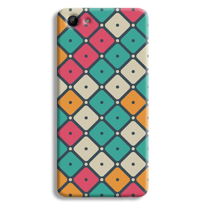 Colorful Tiles with Dot Vivo Y83 Case