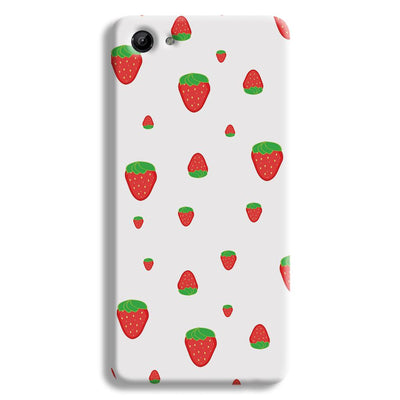 Strawberry Vivo Y81 Case