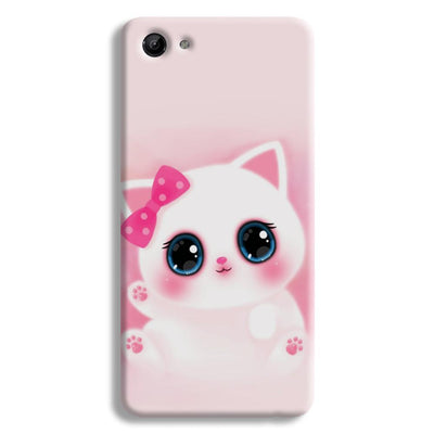 Pink Cat Vivo Y83 Case